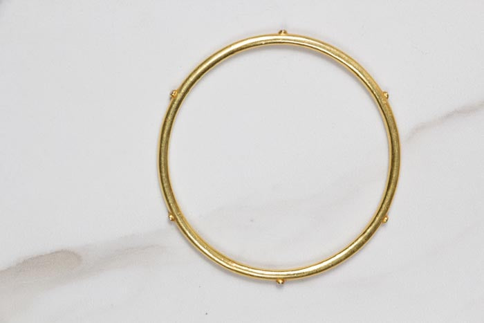 Gold & Diamond Bangle