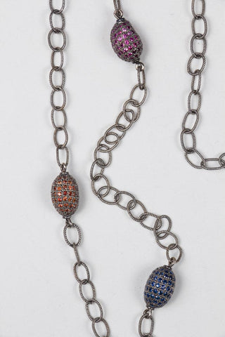 Blackwood Buddha Pendant with Diamond Necklace