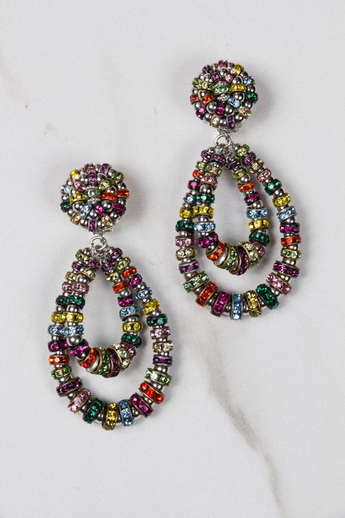 Parisian Chandelier Earrings - Medium multicolor