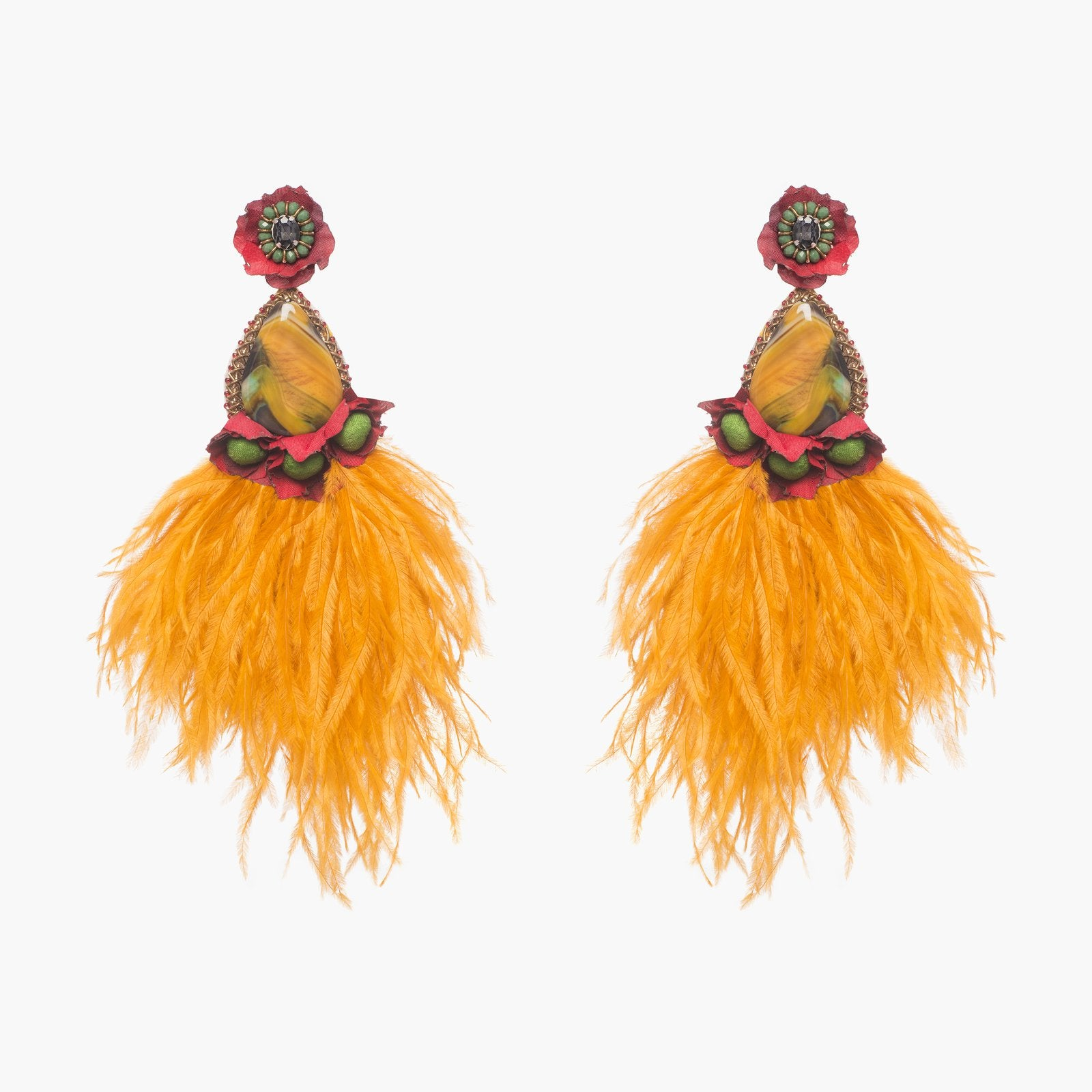 Santana Earrings by Ranjana Khan