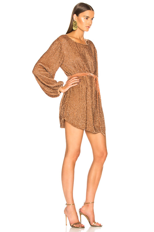 Grace Dress - Bronze