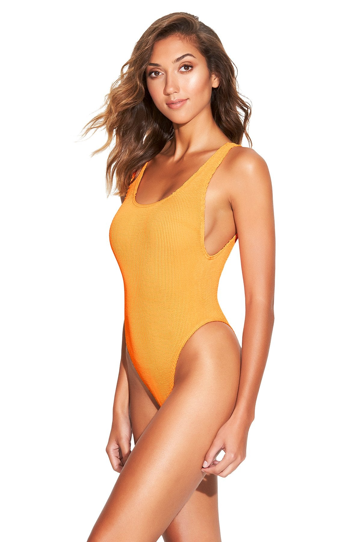 The Maxam One Piece - Tangerine