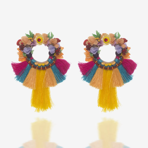 Kiwi Earrings by Ranjana Khan , RANJANA KHAN - Moda Boheme
