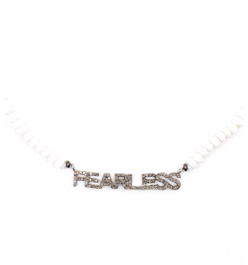 Fearless Diamond Beaded Necklace , BOHEME FINE JEWELRY - Moda Boheme