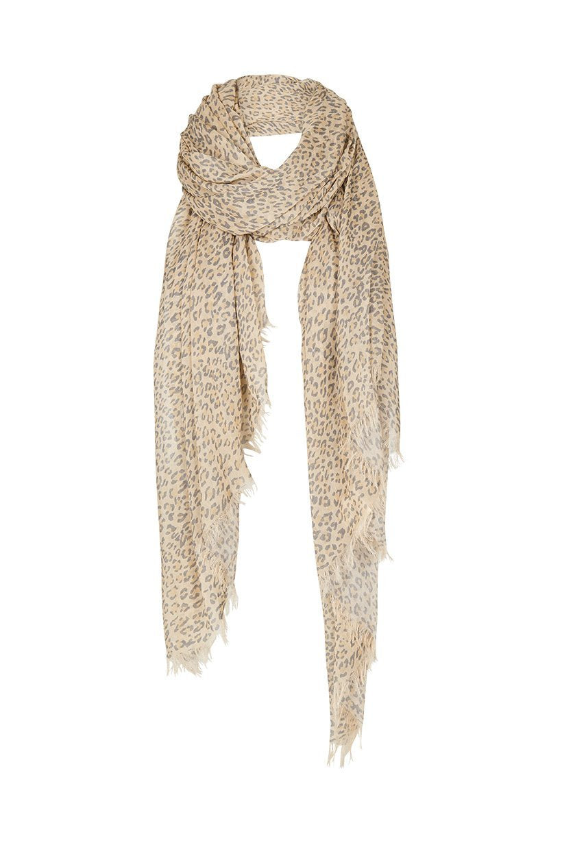 Frankie Travel Scarf - Cheetah