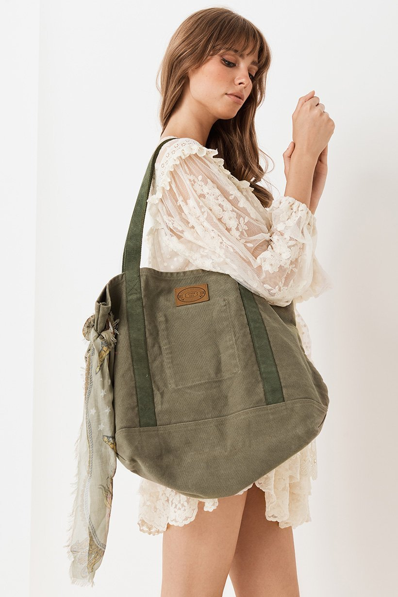 Gypsy Traveler Tote Bag