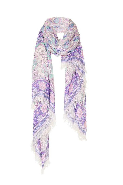 Poinciana Travel Scarf - Lilac