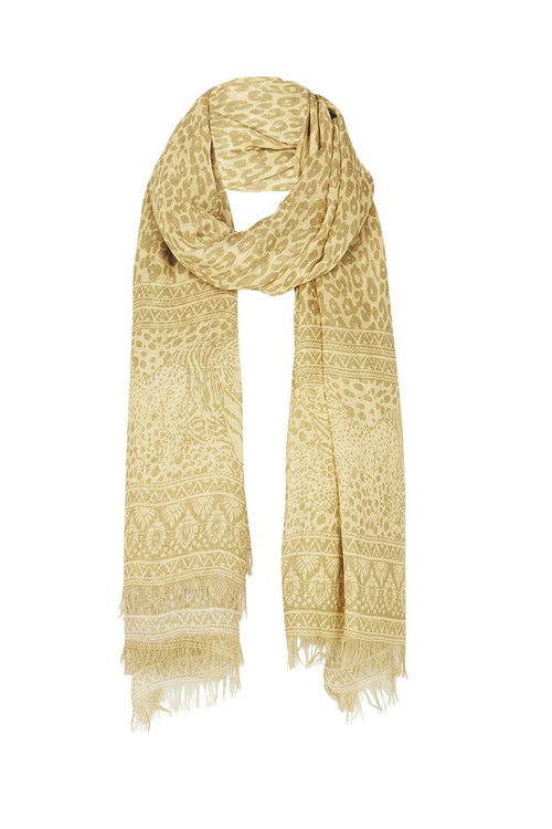 Wild Thing Travel Scarf - Mustard