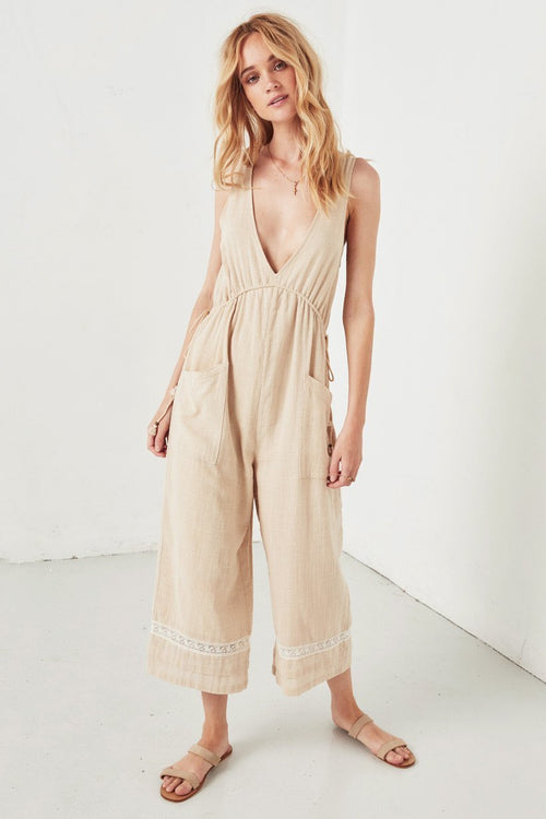 Paloma Jumpsuit - Neutral