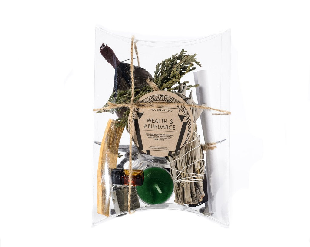 Wealth & Abundance Ritual Kit