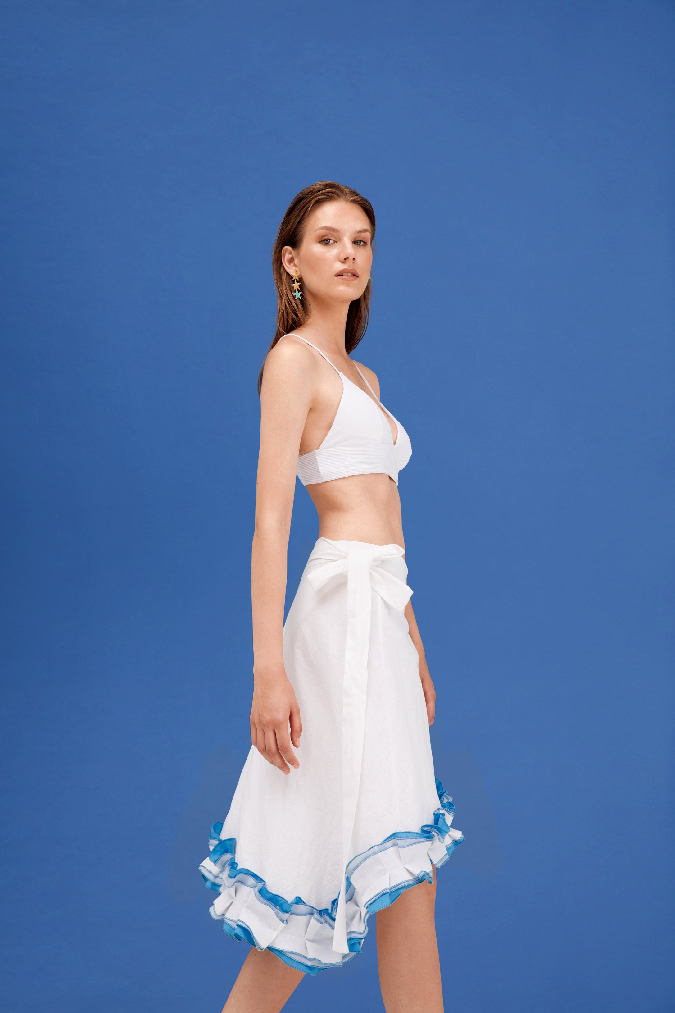 Flow Skirt - Blue