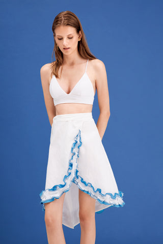 Bella Mini Skirt - Honey