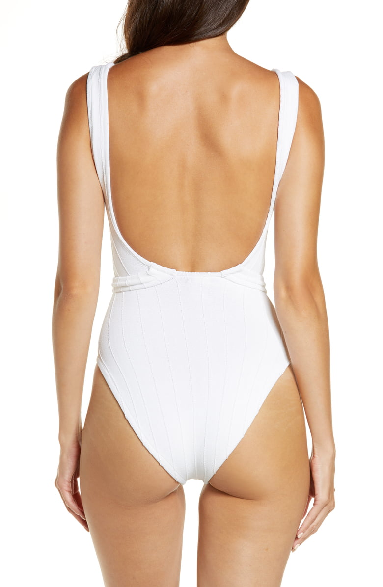 Nile One Piece - White , HUNZA G - Moda Boheme