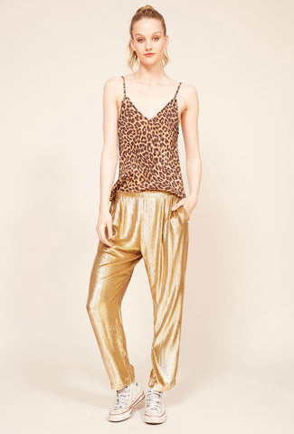 Multicolor Wide Leg Pant