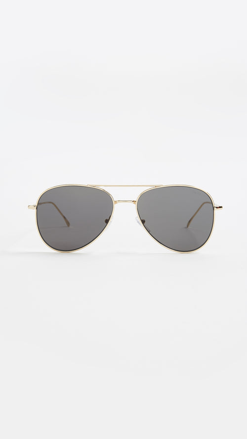Wooster Gold with Grey Flat Lenses