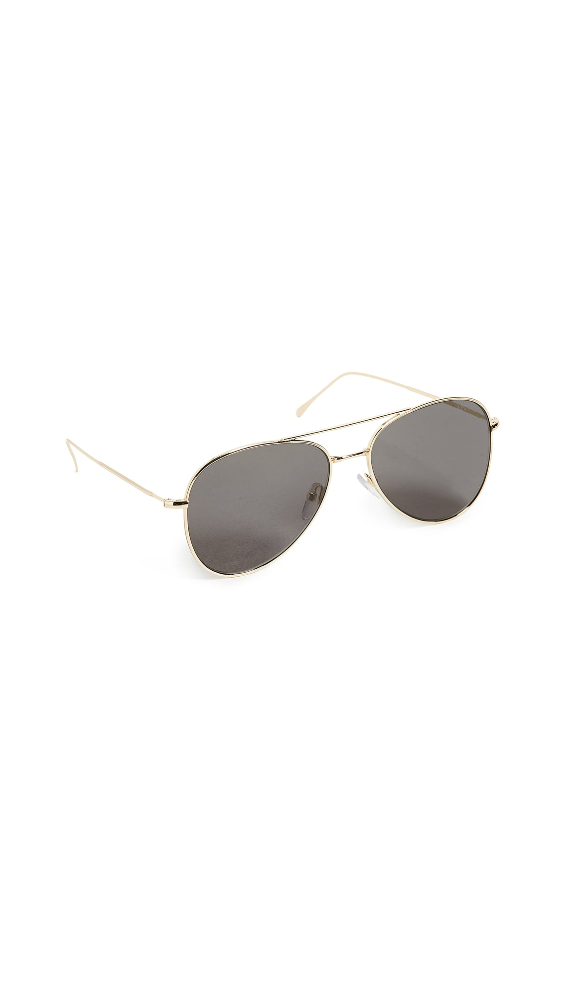 Wooster Gold with Grey Flat Lenses , ILLESTEVA - Moda Boheme