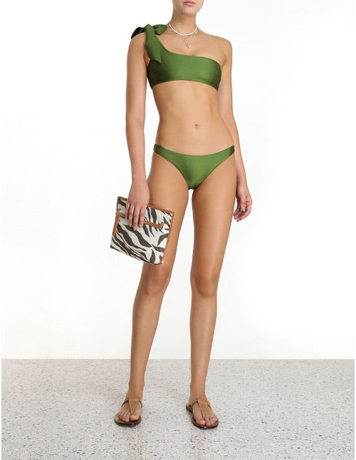 Empire Tie Shoulder Bikini , ZIMMERMANN - Moda Boheme