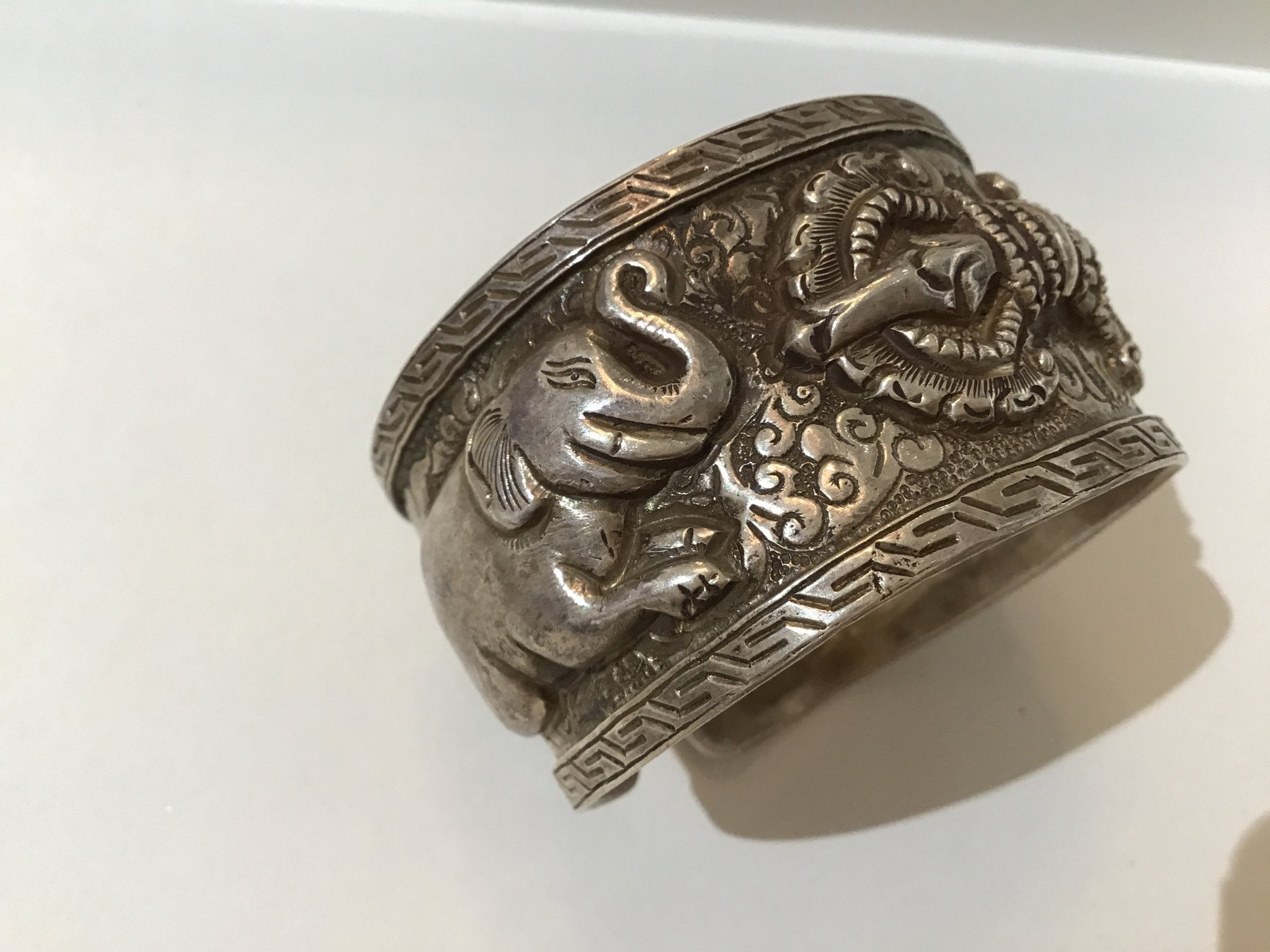 Antique Silver Cuff