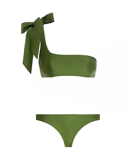 Empire Tie Shoulder Bikini