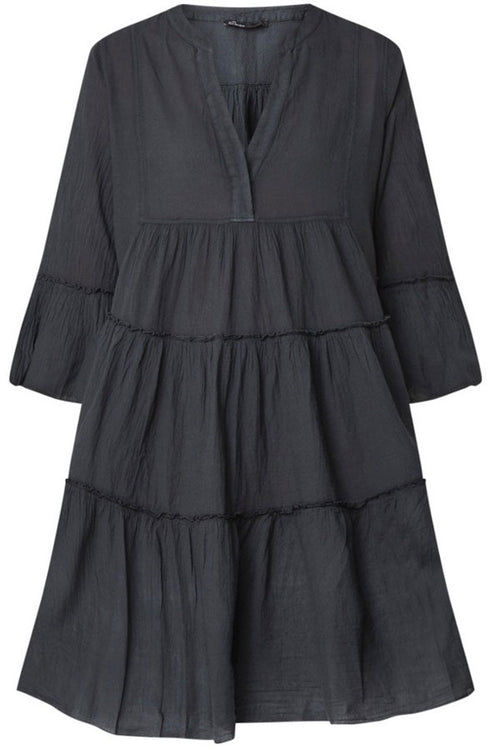 Ella Short Dress- Black , Devotion - Moda Boheme