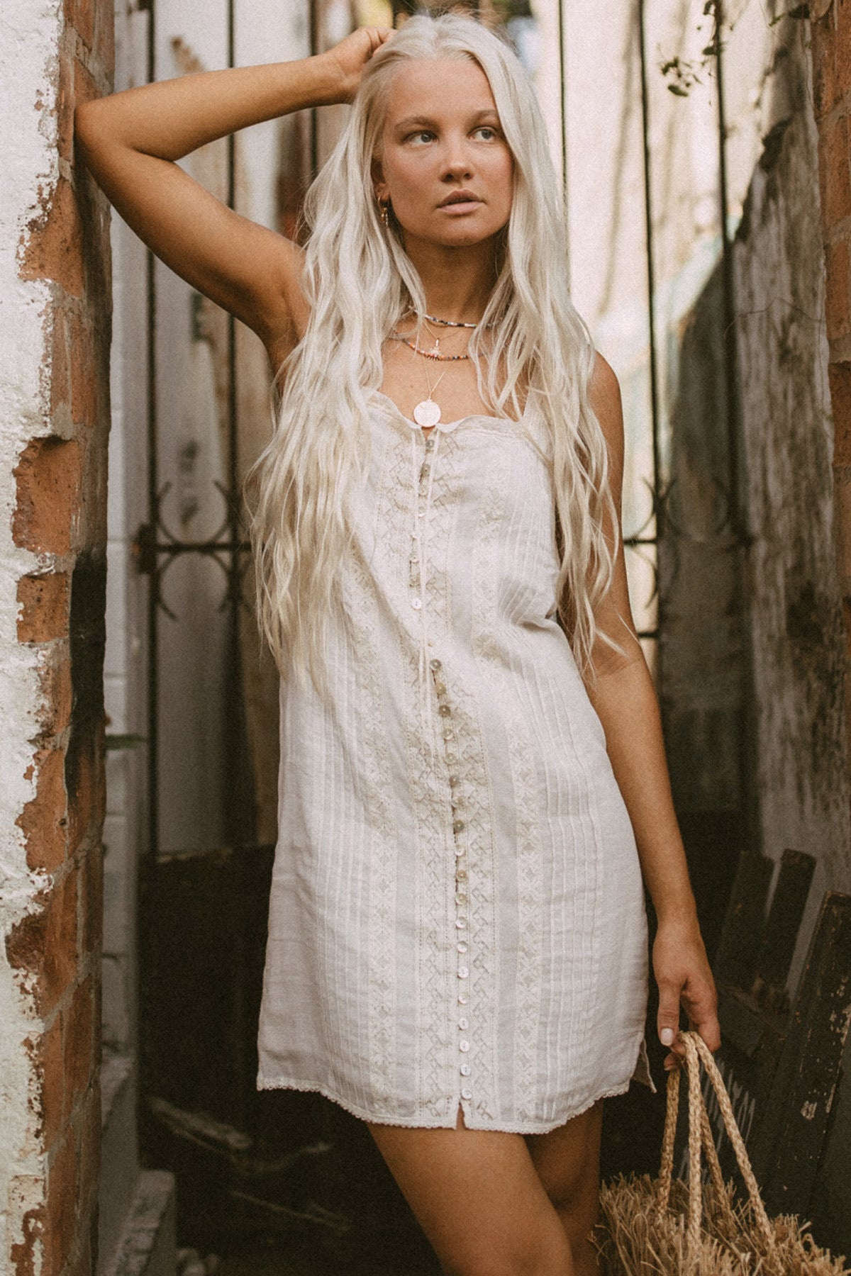 Cinder Singlet Mini Dress , SPELL & THE GYPSY COLLECTIVE - Moda Boheme