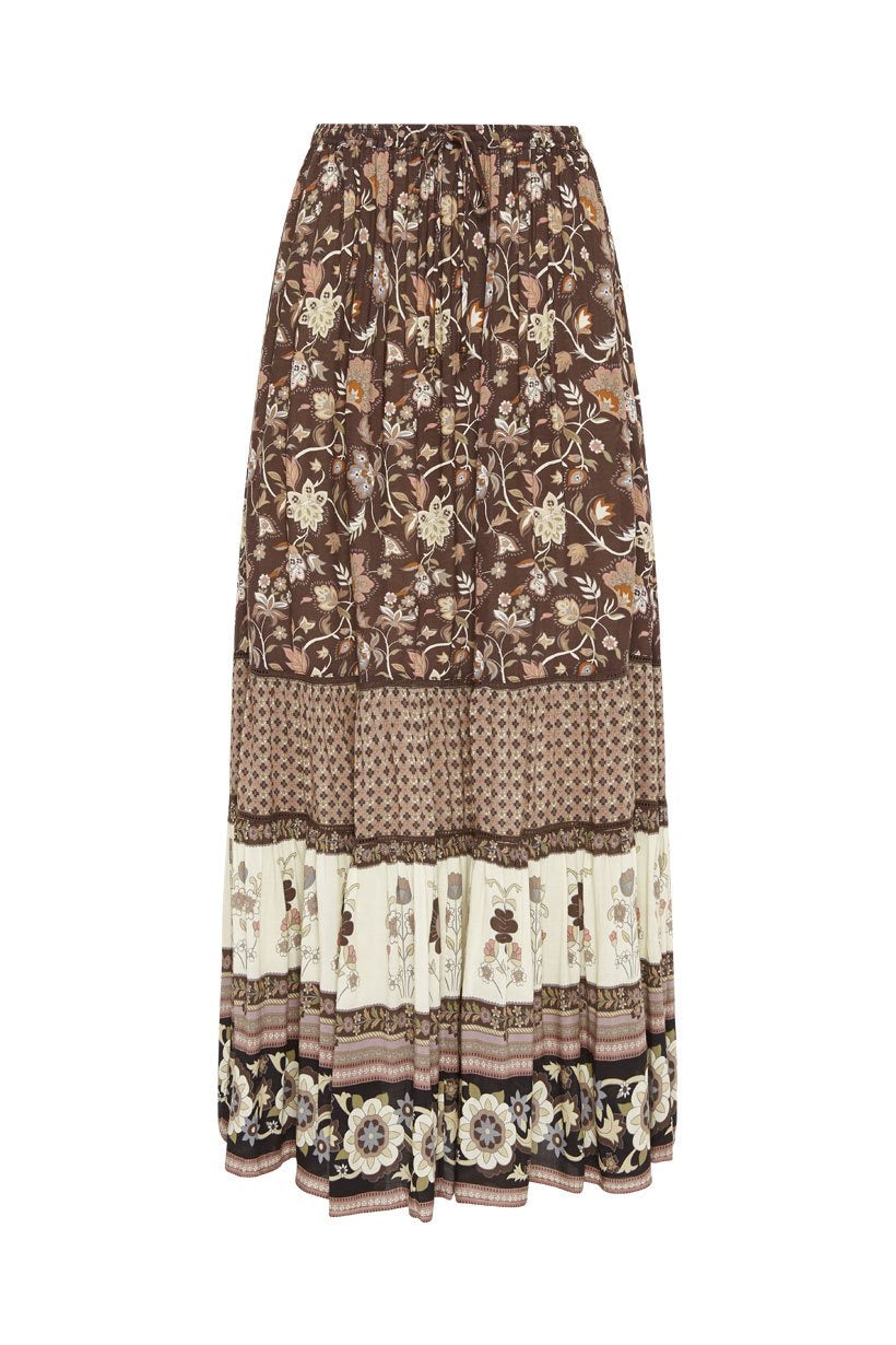 Portobello Road Maxi Skirt- Nightshade , SPELL & THE GYPSY COLLECTIVE - Moda Boheme