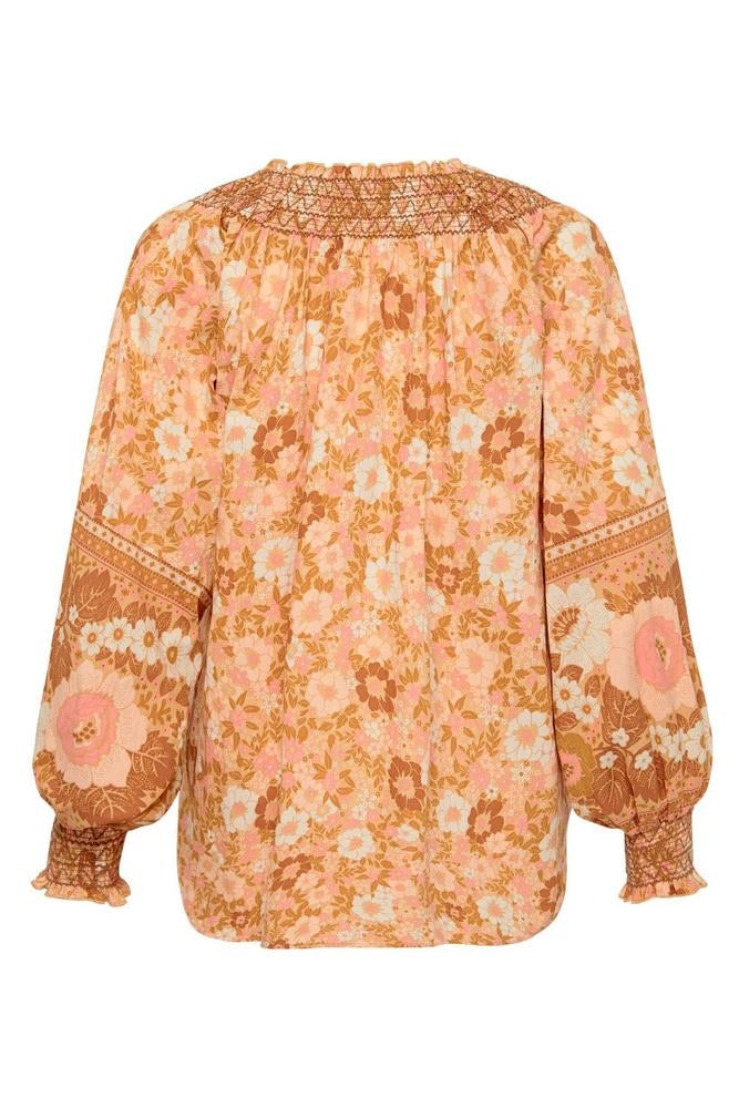 Anne Blouse - Peach