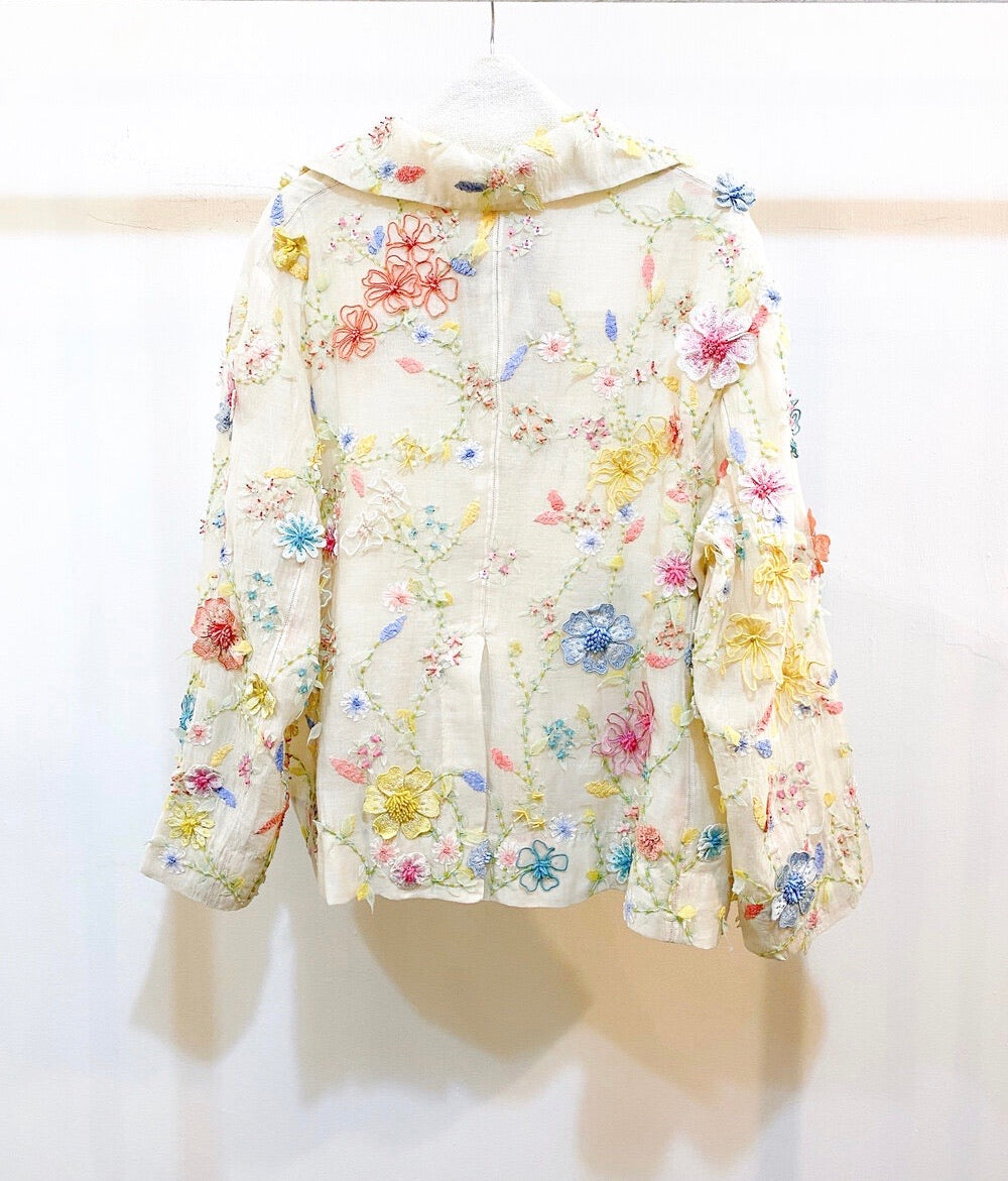 Embroidered Silk Jacket , Pero - Moda Boheme