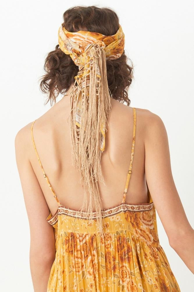 Mystic Head Scarf - Sunflower , SPELL & THE GYPSY COLLECTIVE - Moda Boheme