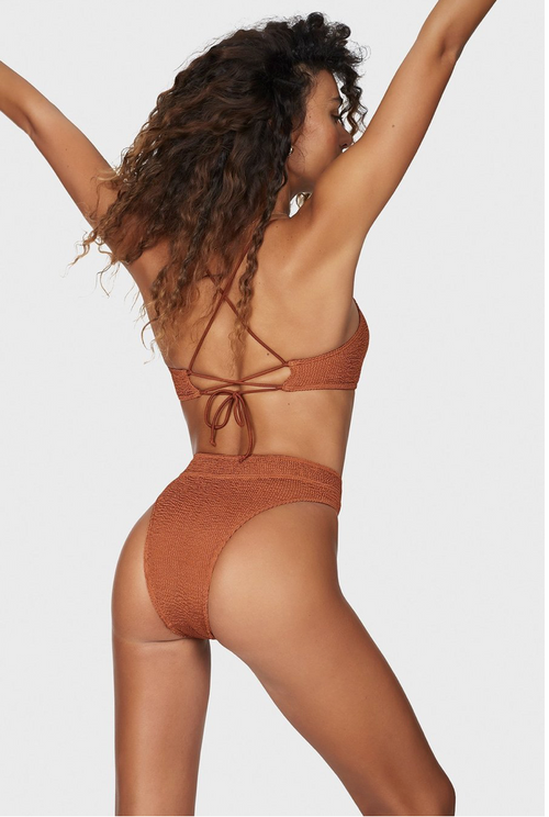 The Savannah brief & The Selena crop - BRONZED UP , BOUND - Moda Boheme
