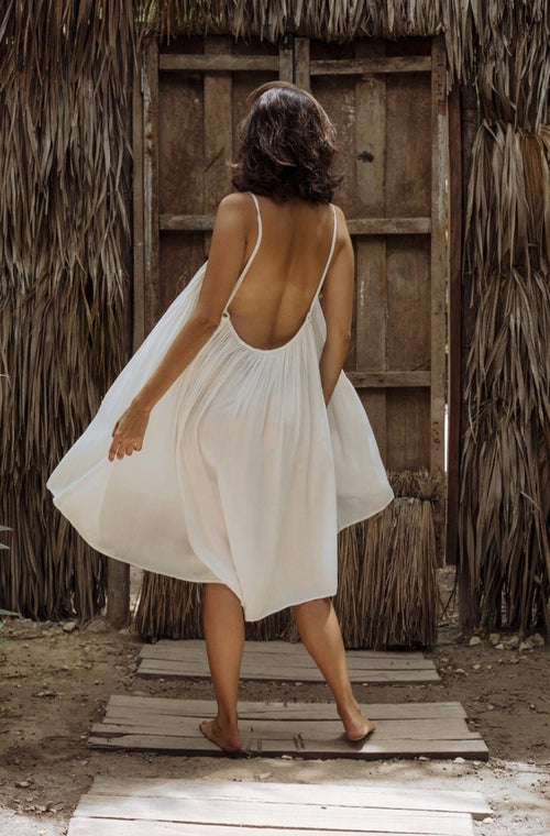 Bohemian Flowy Short Dress