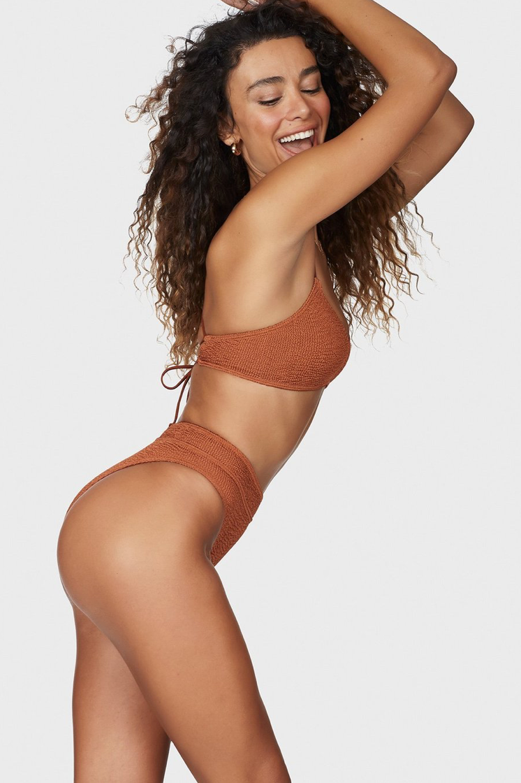 The Savannah brief & The Selena crop - BRONZED UP