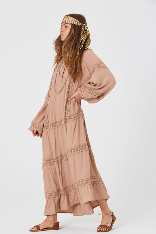 Vancouver Maxi Dress - Blush