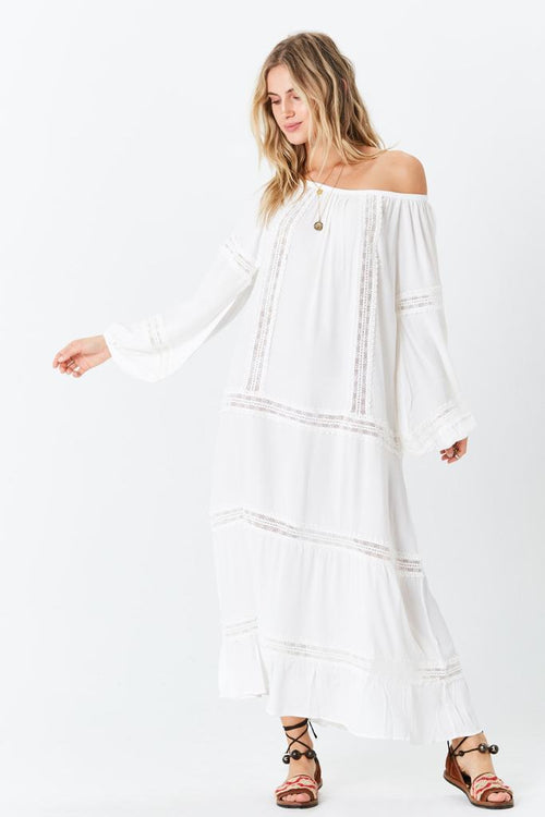 Vancouver Maxi Dress - Dove