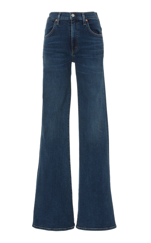 Chloe Mid Rise Flare Jeans - Serenity