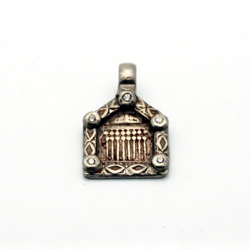 Silver Antique Charm with Diamonds , BOHEME FINE JEWELRY - Moda Boheme