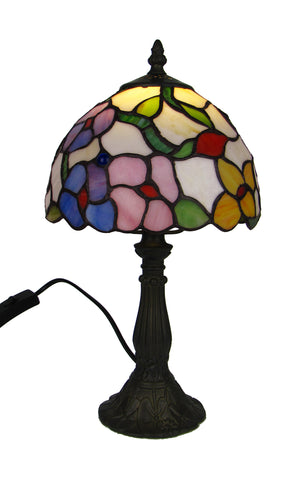 30cm Spring Flower Tiffany Table Lamp-EHomewares