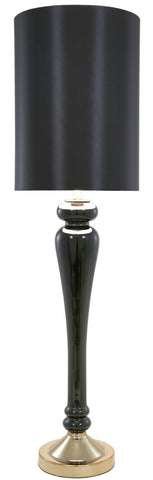 102cm Black Pearl Glass Table Lamp