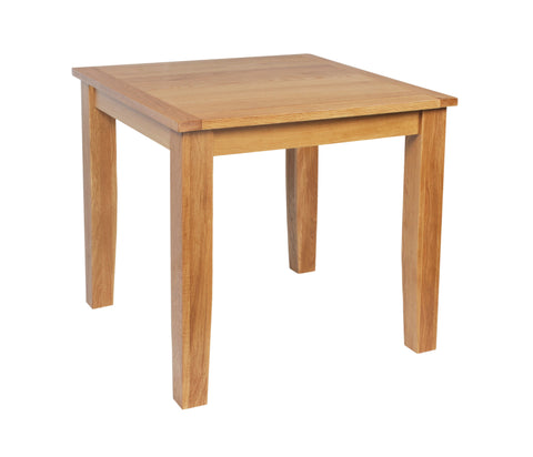 Croft Oak Square Dining Table (CroftOak Squ Dining Table)-EHomewares
