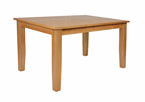 Croft Oak 1400-1750mm Extending Dining Table (CroftOak Dining Table (extending))-EHomewares