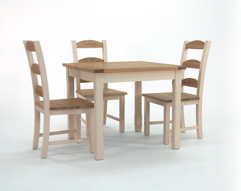 Camden Kitchen Square Dining Table - 90cm-EHomewares