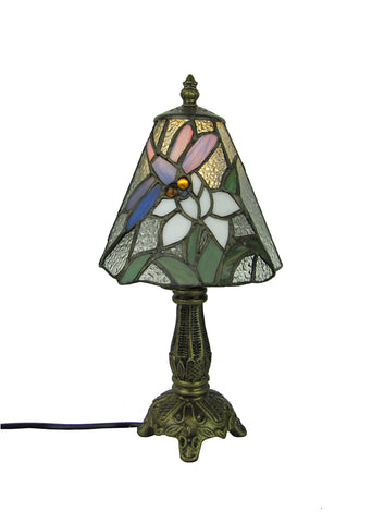 15cm Tiffany Butterfly Table Lamp-EHomewares