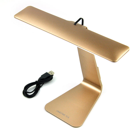 1X Silver/Gray/Gold Touch Sensor 3-Modes LED Table Lamp, Elegant design USB Touch Desk Light Lamps/ Eye Protected Reading Lamps-EHomewares