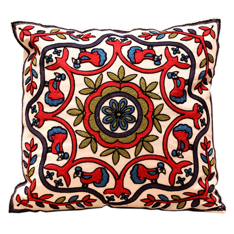 33 Patterns 100% Cotton Embroidery Sofa Cushion Cover Perfect Quality Home Decoration Housewarming Gift Car Throw Pillow Cover-EHomewares