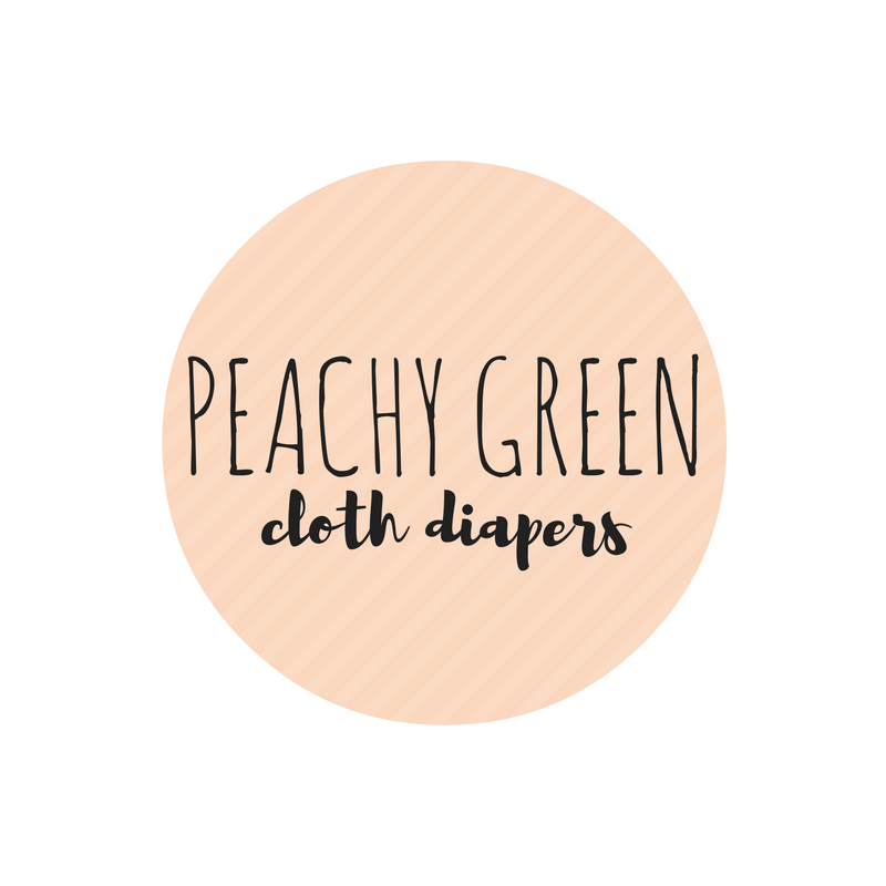 Peachy Green Diapers