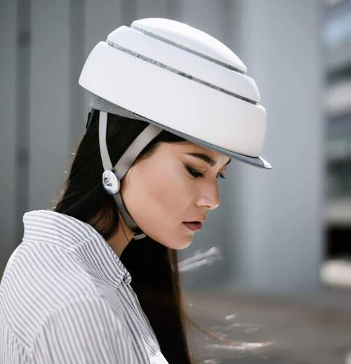 Closca - Casco Plegable Blanco