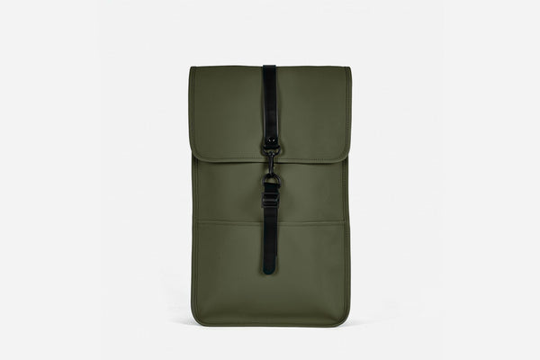 Rains - Backpack Verde, Regular y Mini