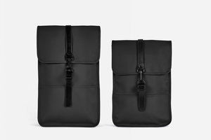 Rains - Backpack Negro, Regular y Mini