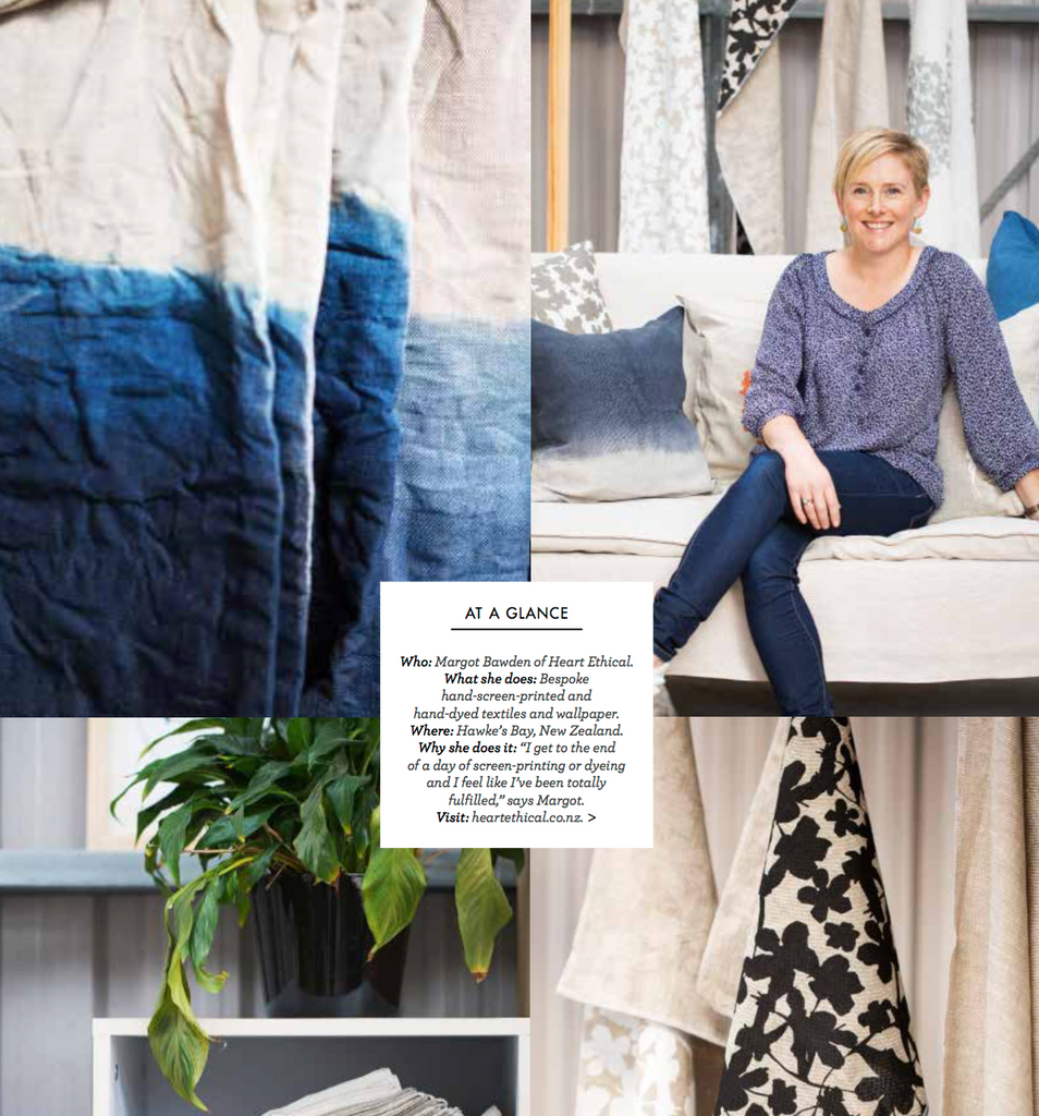Heart Ethical is featured in Home Beautiful Magazine