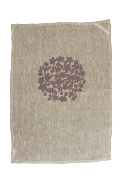 Linen tea towel | Heart Ethical | hand screen printed